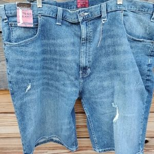 The Foundry mens distressed jean shorts size 50